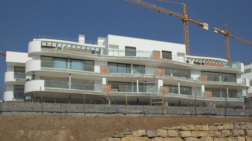 Phase III - 2020 10 Blocks 31 and 32 are rendered as terrace doors are installed