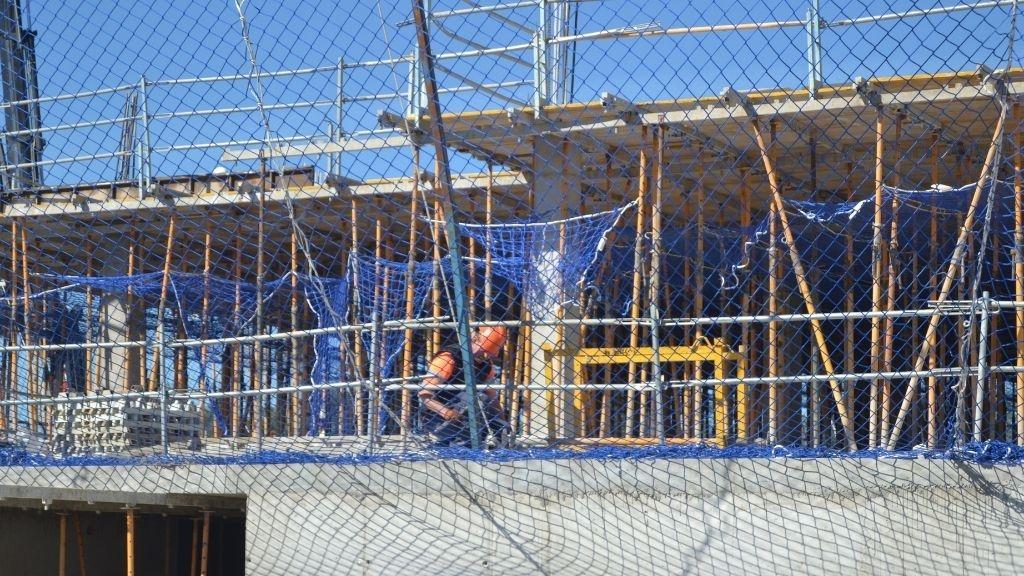 Phase VIII - 2021 03 Progress at Garden Villa level in Block 75