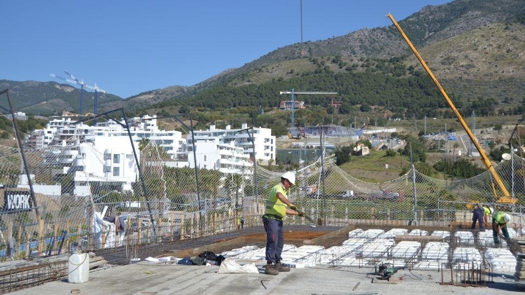 Phase VI - 2021 03 Progress at Sky Villa level in Phase VI