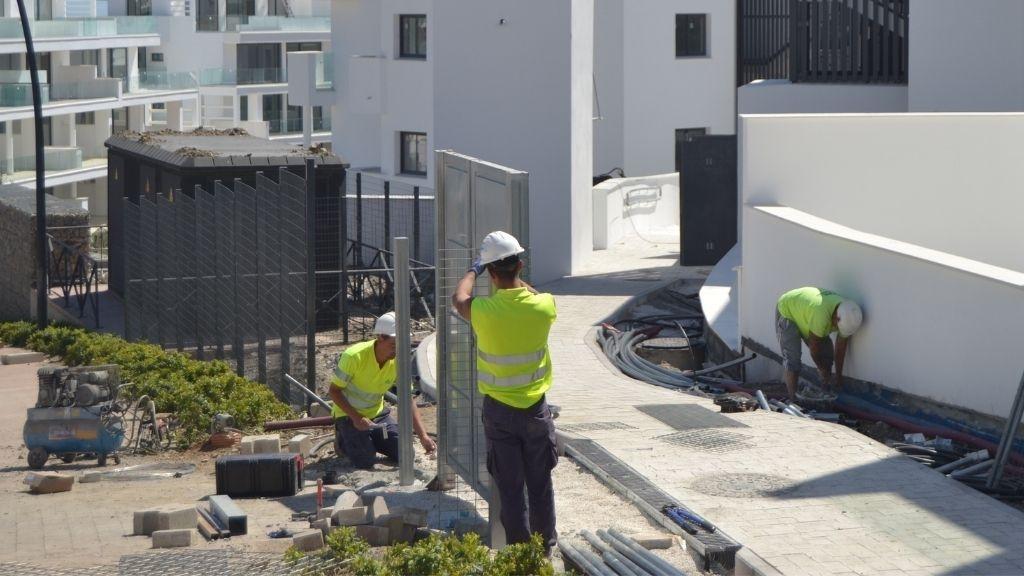 Phase III - 2021 03 Work around the urbanisation in Phase III