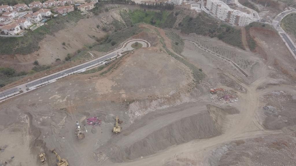 Phase IX - 2020 02 - Excavation of Phase IX begins