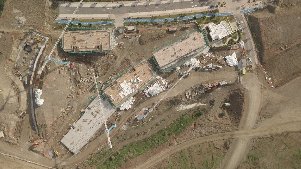 Phase I - 2018 11 - Aerial view of Phase I