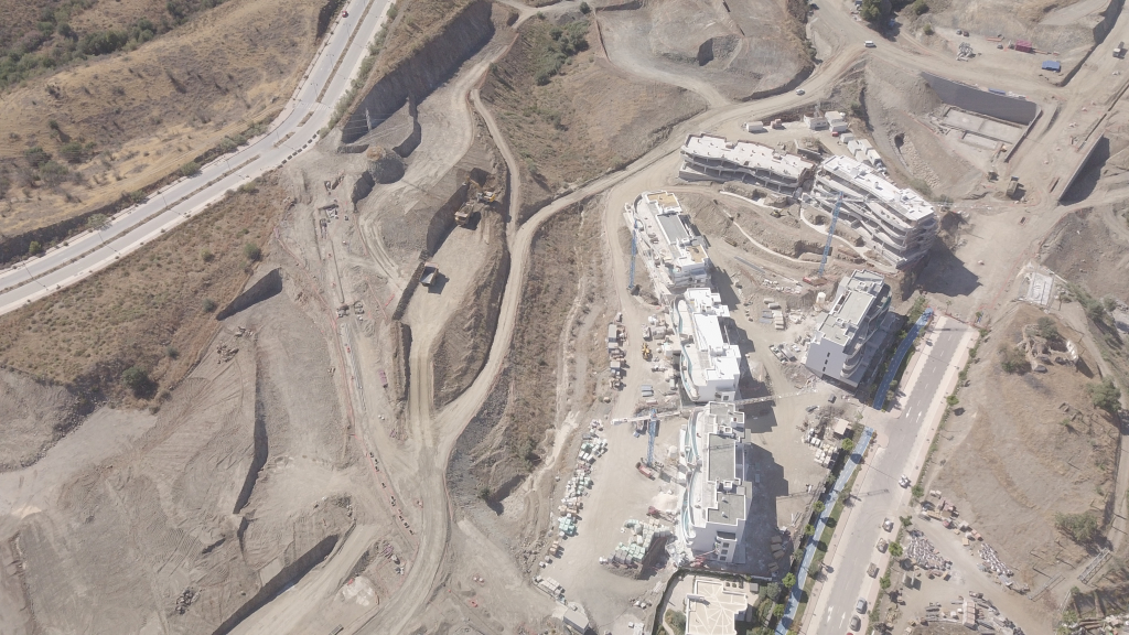 Phase I - 2019 06 - An aerial view of Phases I, III, IV and V